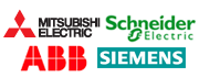 MISUBICHI ELECTRIC, ABB, Schneider Electric